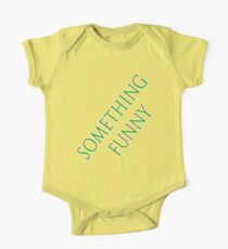something funny on a t-shirt Kids Clothes
