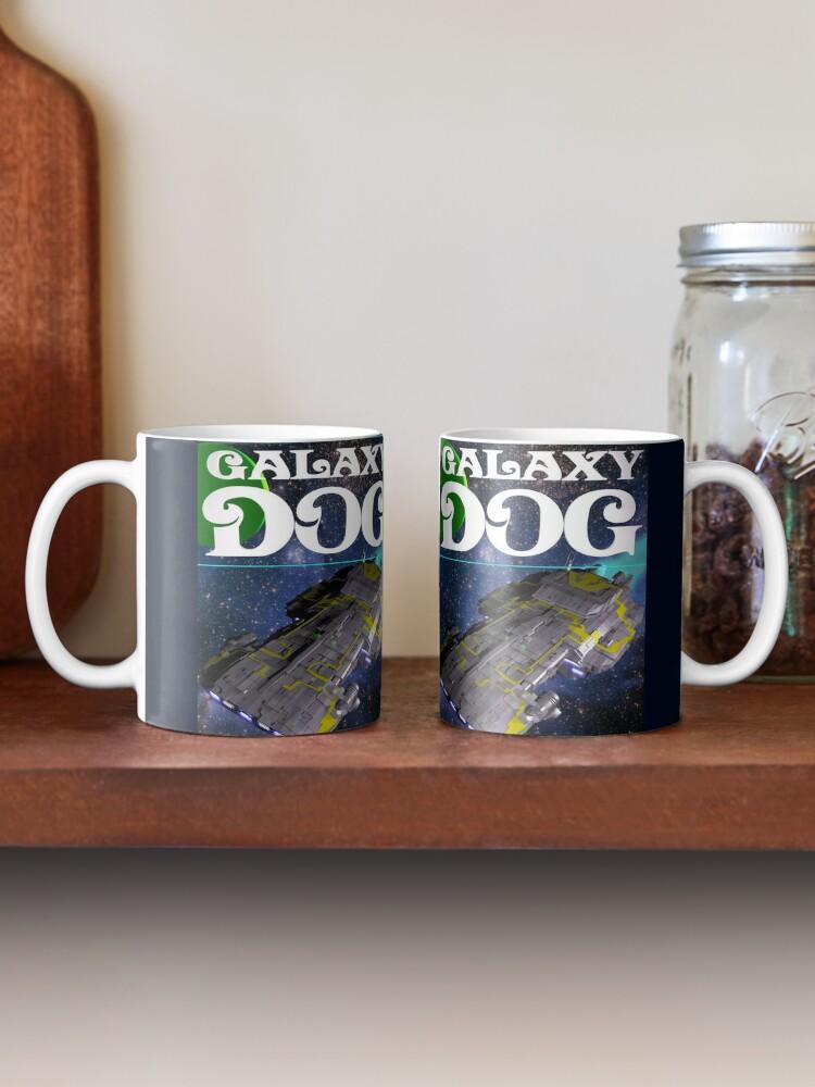Alternate view of Galaxy Dog Cover Mug