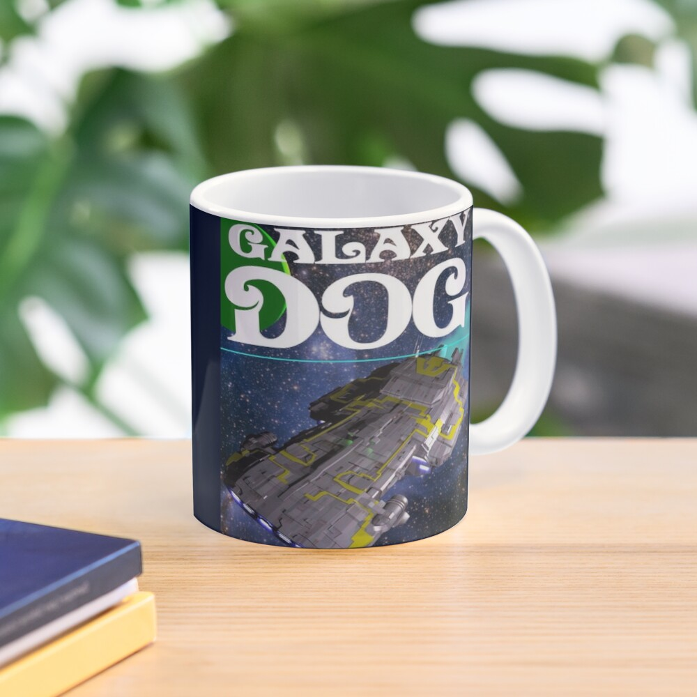 Galaxy Dog Cover Mug