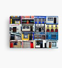 The Pubs of Miltown Malbay Canvas Print
