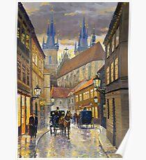 Prague Old Street Stupartska Poster