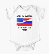 Made In American With Russian Parts One Piece - Short Sleeve