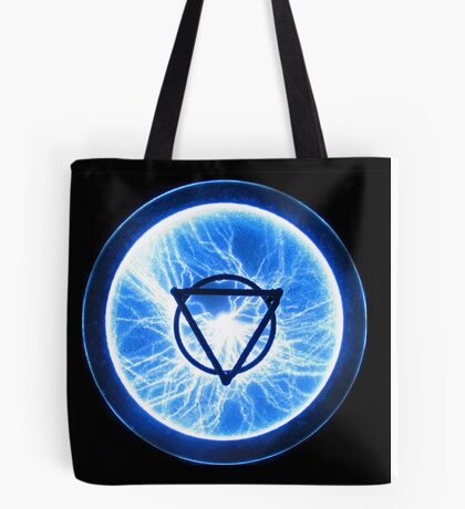 lighting for the geometricly inclined Tote Bag