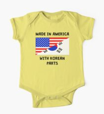 Made In American With Korean Parts One Piece - Short Sleeve