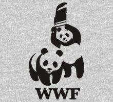 WWF panda wrestling