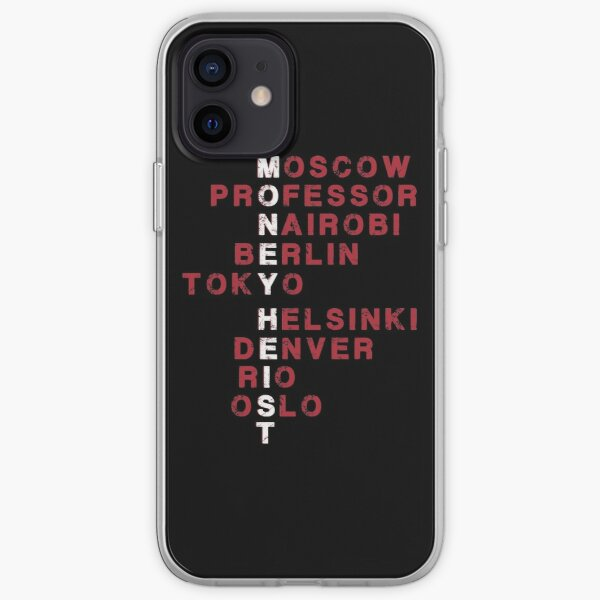 Retro Money Heist From Moscow To Oslo  iPhone Soft Case