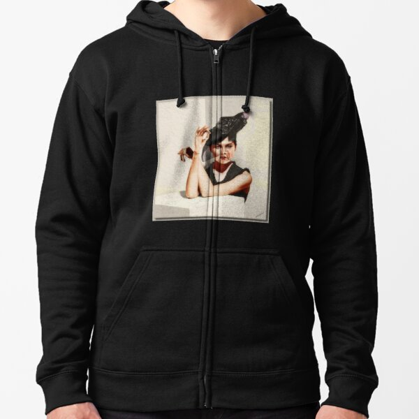 The Doll Zipped Hoodie