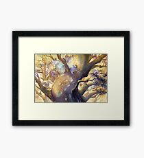The Reading Tree Framed Print