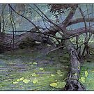 Poplar tangle by David  Kennett