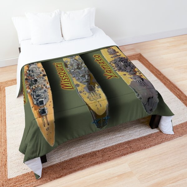 Missouri, Bismarck, Yamato Comforter