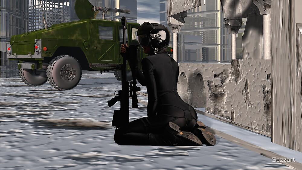 I've Got Your Six - Heavy Artillery by Sazzart