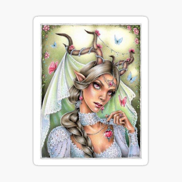 Fairy Bride Sticker