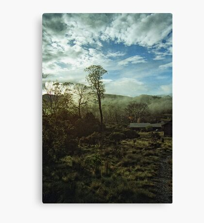 Misty Morning Cradle Mountain Canvas Print