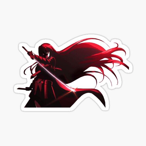 Anime Akame ga Kill Sticker