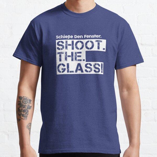 TIRER. LA. VERRE! Die Hard Quote - version blanche T-shirt classique
