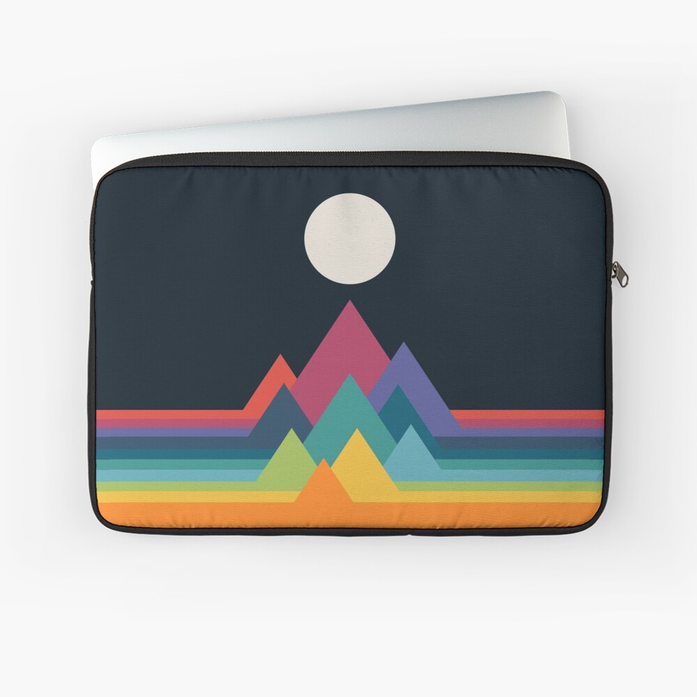 Whimsical Mountains Laptop Sleeve