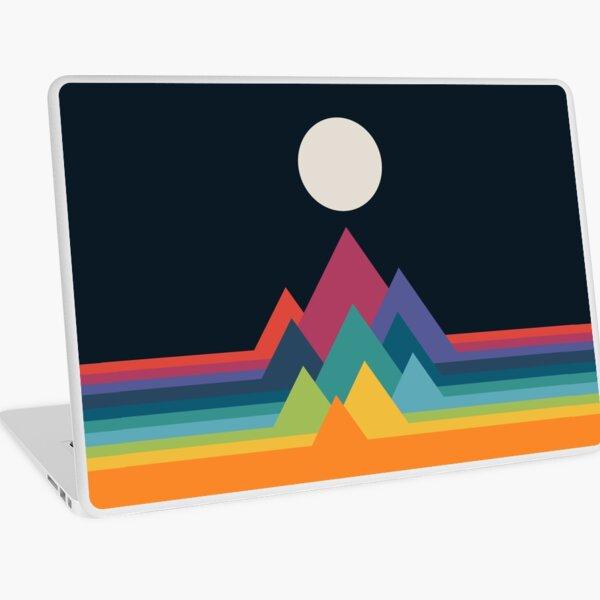 Whimsical Mountains Laptop Skin