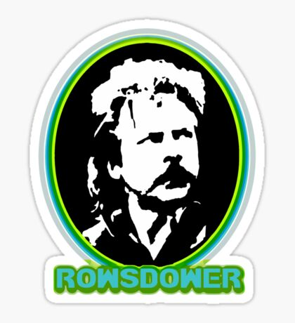 Rowsdower!  white version Sticker