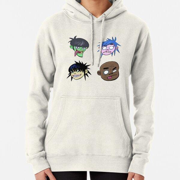 Gorillaz Headz Pullover Hoodie