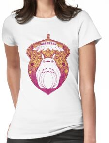 Totoro Victoriana Womens Fitted T-Shirt