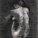 Nude study by Lynn Hughes