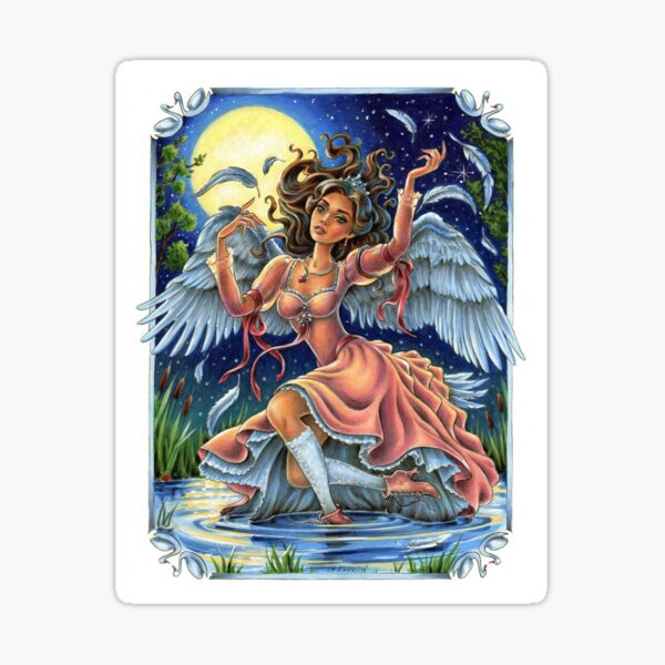 Odette Swan Lake Princess Sticker