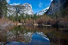 Mirror Lake Late February, Yosemite by photosbyflood