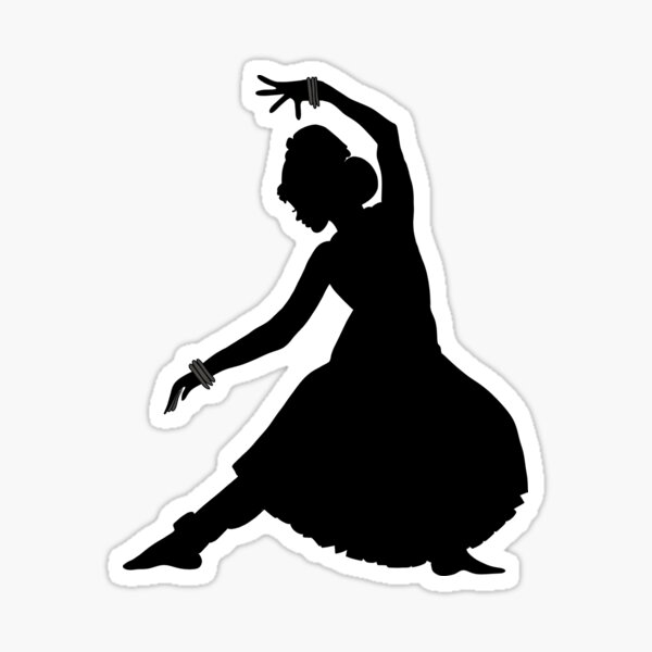 Bharatanatyam Stickers Redbubble