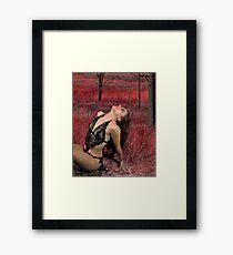 Sensual Breeze Framed Print