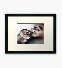 Happy loving couple... Framed Print