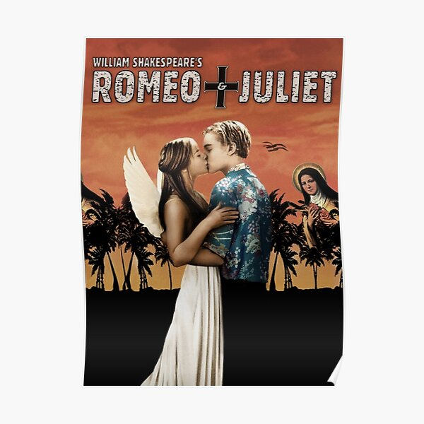 Romeo + Juliet -1996- Poster Promotion Poster