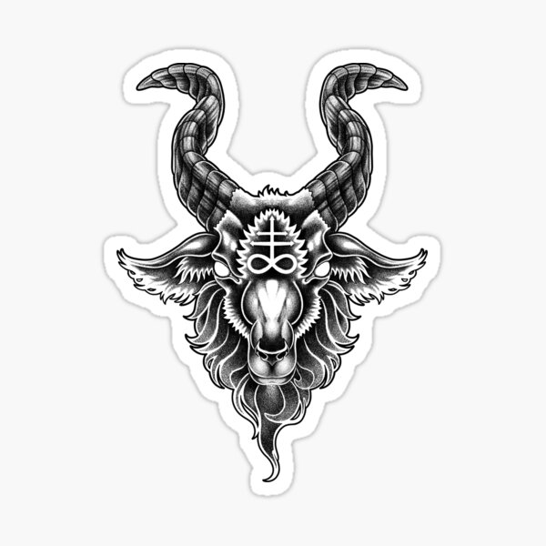 Lucifer Sticker