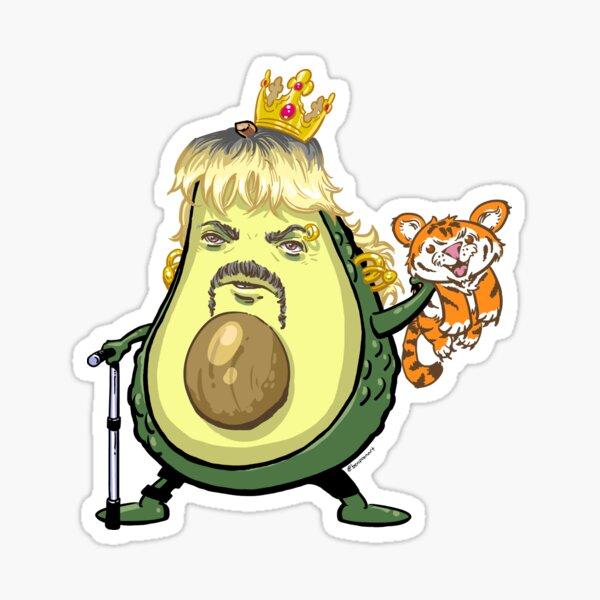Joe Exotic Avocado Sticker