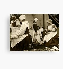 Learning the Skills Canvas Print