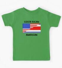 Costa Rican American Kids Tee