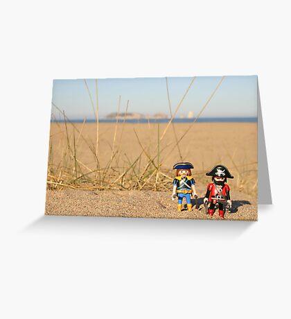 Empordà pirates Greeting Card