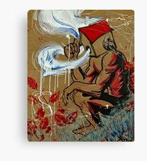 Setting free the Madness  Canvas Print