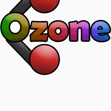 Ozone Logo T Shirt by BFGSM0121