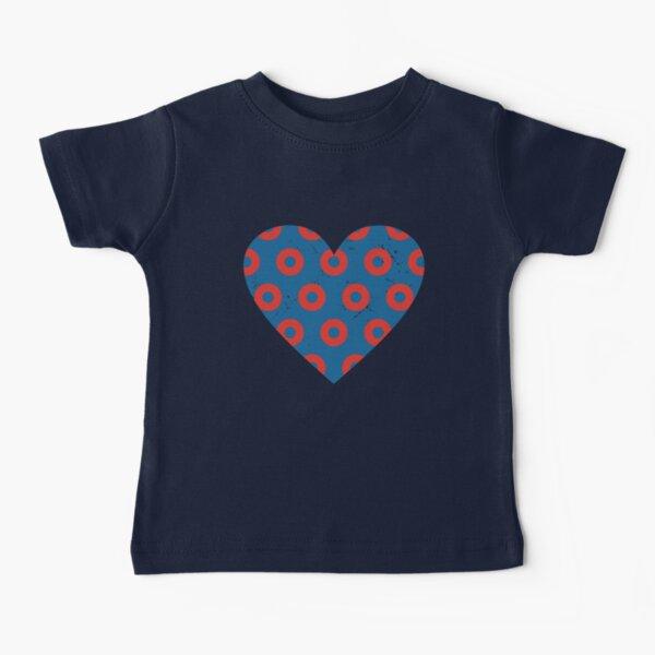 Phish Fishman Donut Heart Baby T-Shirt
