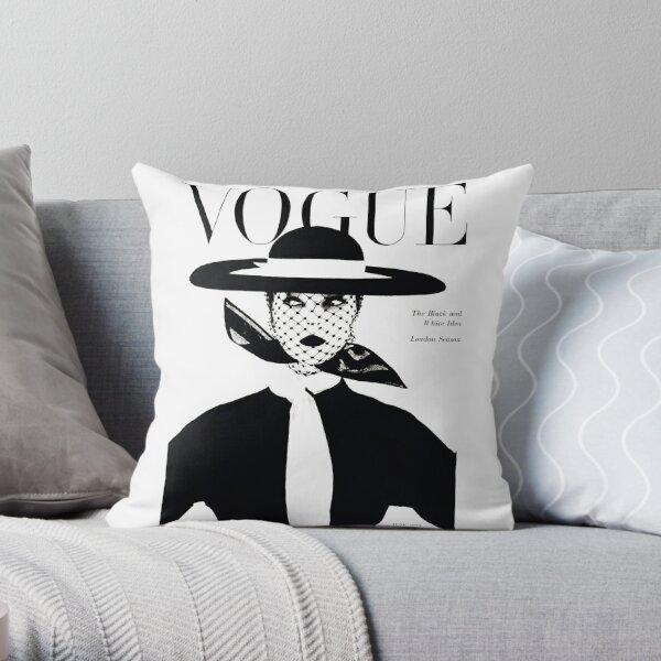 vogue magazine inspired Throw Pillow