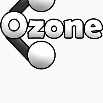 Ozone Logo T Shirt White Edition by BFGSM0121