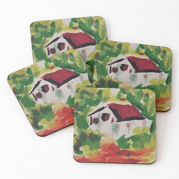house Coasters (Set of 4)