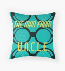 The Man from U.N.C.L.E. Throw Pillow