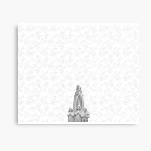 Apparition of Our Lady of Fatima Metal Print