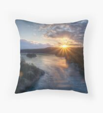 Deception Rays Throw Pillow
