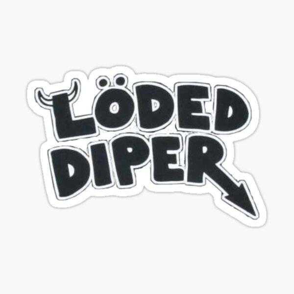 Loded Diper T-Shirt Sticker