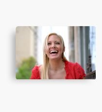 Holly Laughs RO Canvas Print