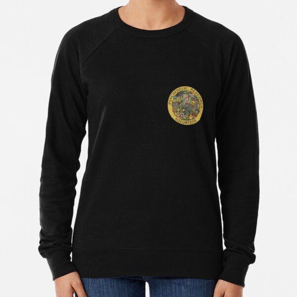 psychedelic research volunteer Lightweight Sweatshirt