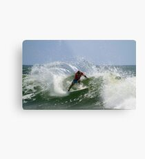 Kelly Slater at the Quiksilver Pro Metal Print