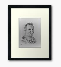Senior Constable Terry Eaton Framed Print